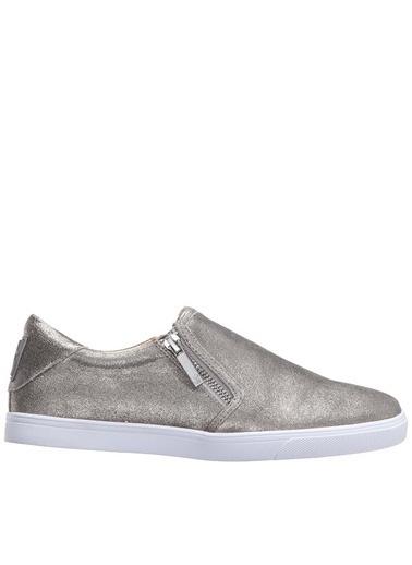 Nine West %100 Deri Casual Ayakkabı Gümüş